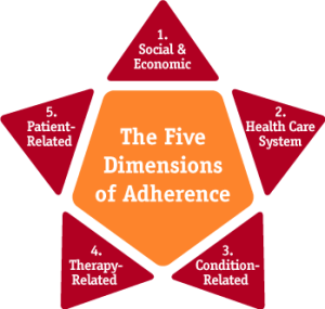Five Dimensions of Medical Adherence, PKU, Low-Protein Diet, Phenylketonuria