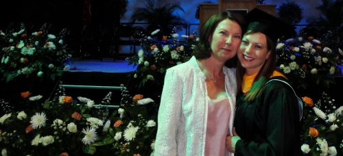 Nicole Merrifield Masters Graduation