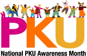 National PKU Awareness Month, Phenylketonuria, May, PKU Awareness Logo